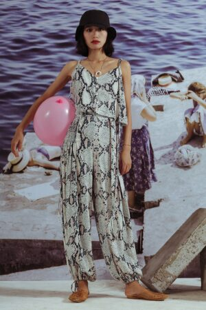 Shake Printed Beach Suit