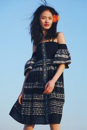 Ethnic Summer Sling Dress