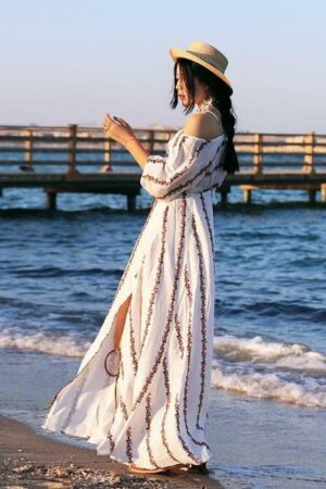 Bohemian Beach Long Dress