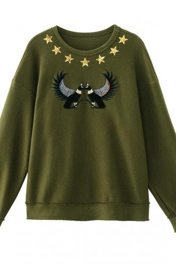 Animal Embroidered Sweater