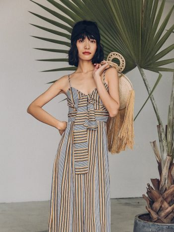 Striped Resort Jumpsuit