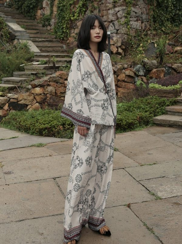 Bohemian Holiday Two-Piece Suit
