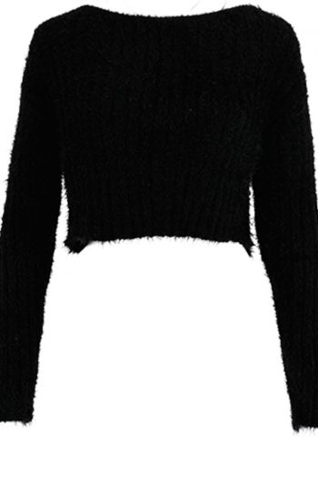 Off The Shoulder Short Sweater