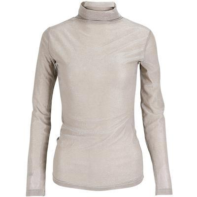 Turtleneck Knit Long Sleeve Top