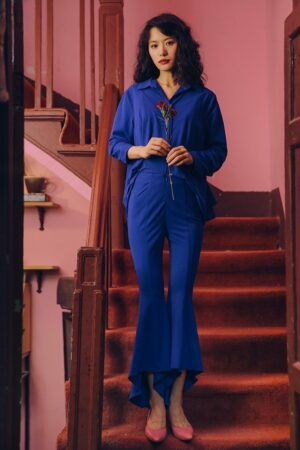 Royal Blue Two- Piece Suit
