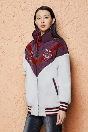 Embroidered Winter Jacket