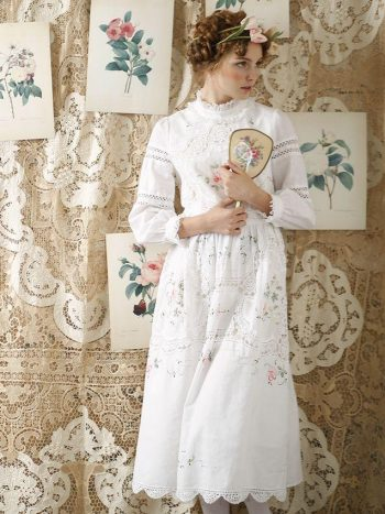 Vintage Patchwork Princess Dress