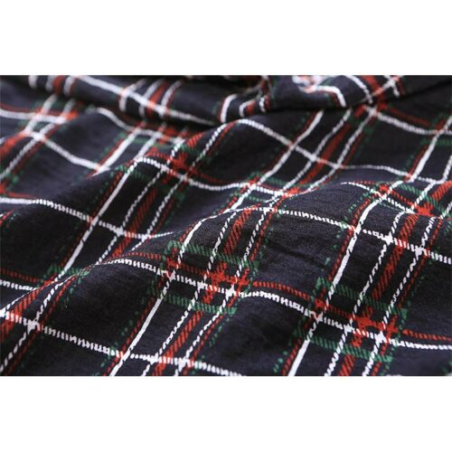Warm Plaid Oversize Scarf