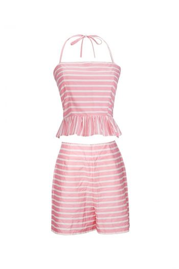 Ruffle Beach Two-Piece Set