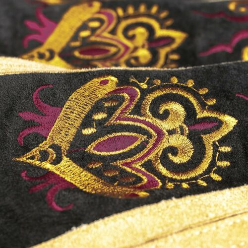 Ethnic Style Embroidered Skirt