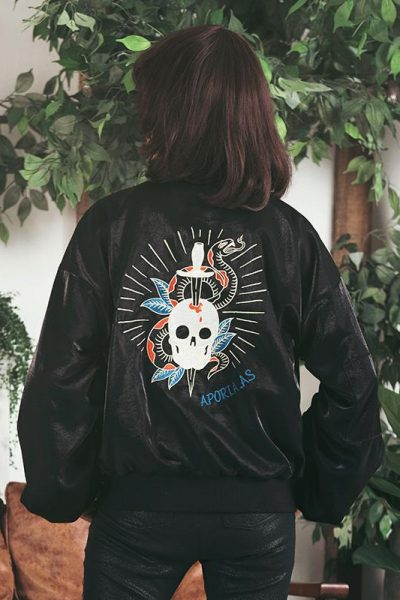 Hippie Style Embroidered Jacket