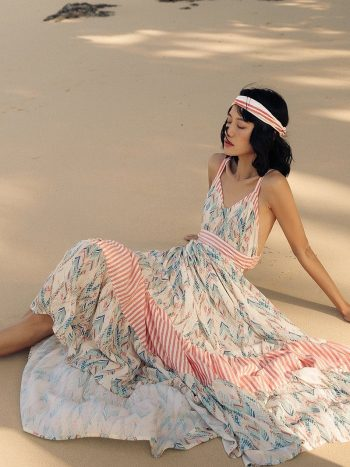 Bohemian Vacation Long Dress
