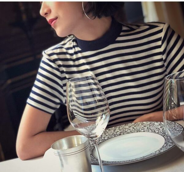 Retro Style Striped T-Shirt