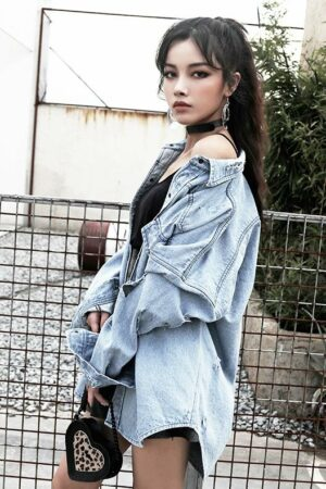 Denim Blue Long Shirt