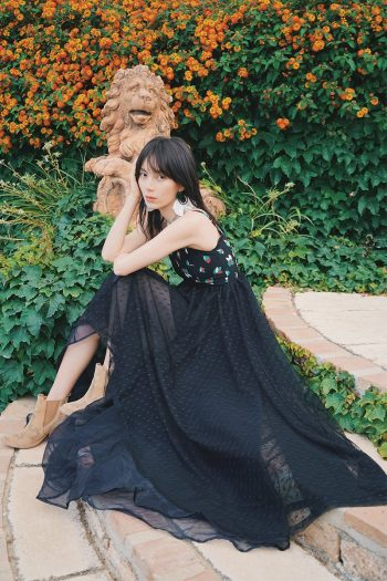 Bohemian Black Evening Dress