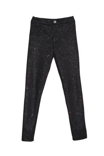 Sparkle Black Leggings