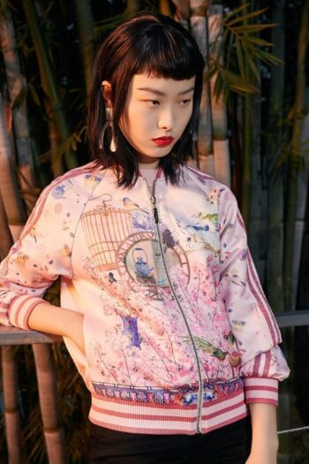 Floral Printed Short Jacket