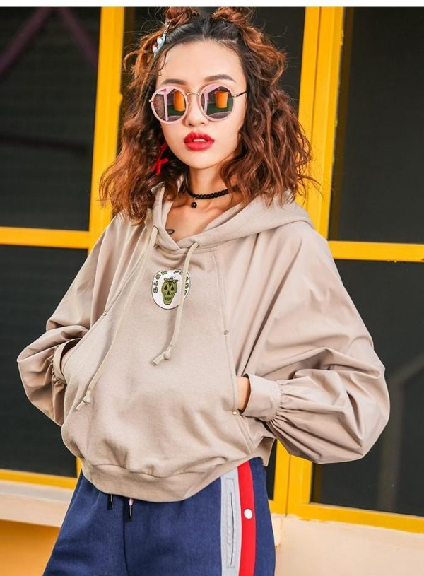 Street Style Hooded Shirt