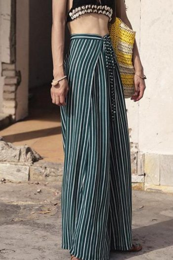 Striped Green Beach Pants