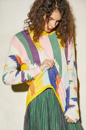 Hit Color Sweater
